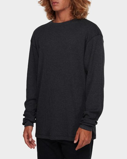 2 Essential Thermal Tee Black 9591601 Billabong