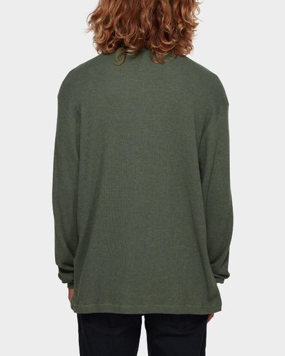 3 Essential Thermal Tee Green 9591601 Billabong