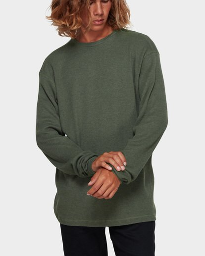1 Essential Thermal Tee Green 9591601 Billabong