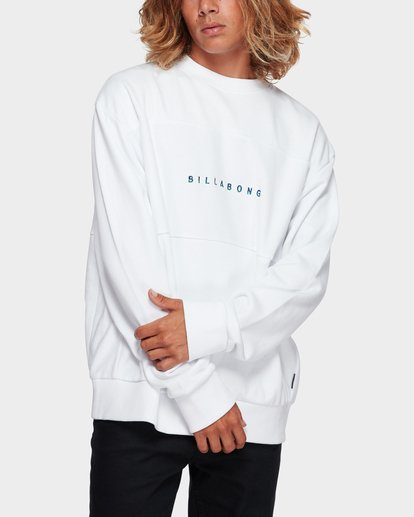 1 The Boss Crew White 9591606 Billabong
