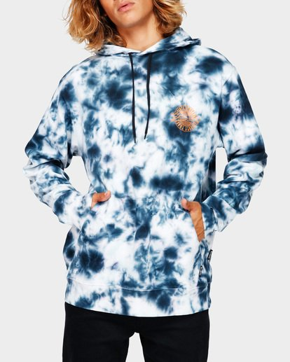 1 TYE DYE POP HOODIE Blue 9591607 Billabong