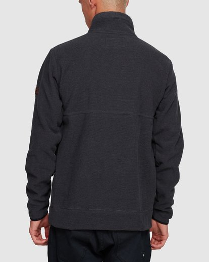 3 BOUNDARY MOCK HALF ZIP HOODIE Black 9591610X Billabong