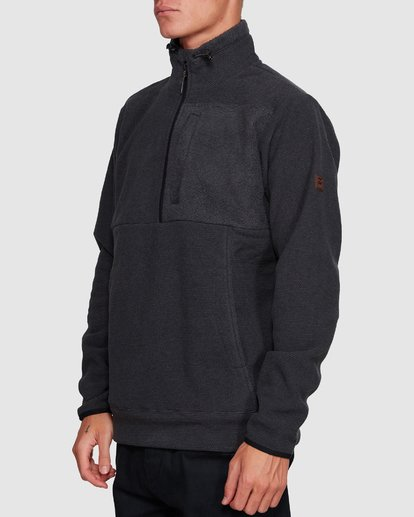 2 BOUNDARY MOCK HALF ZIP HOODIE Black 9591610X Billabong