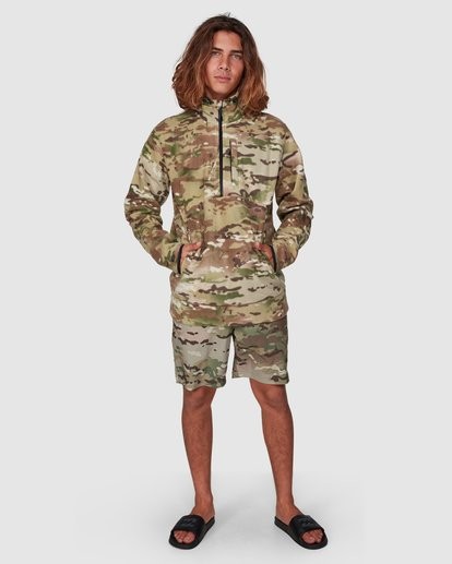 5 Boundary Pullover Hoodie Camo 9591611M Billabong
