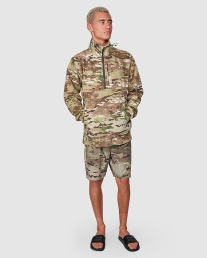 10 Boundary Pullover Hoodie Camo 9591611M Billabong