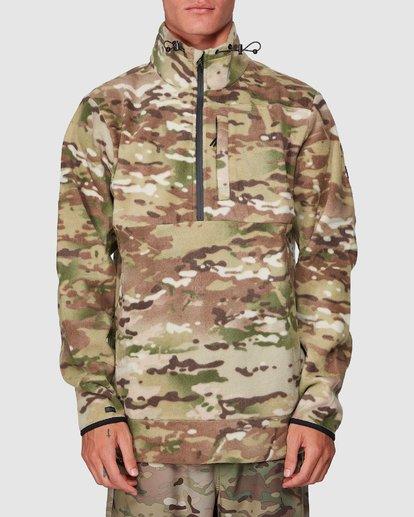 4 Boundary Pullover Hoodie Camo 9591611M Billabong