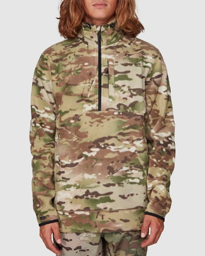 6 Boundary Pullover Hoodie Camo 9591611M Billabong