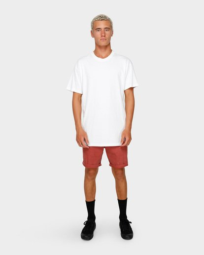 11 NEW ORDER WAVE WASH WALKSHORTS Red 9591713 Billabong