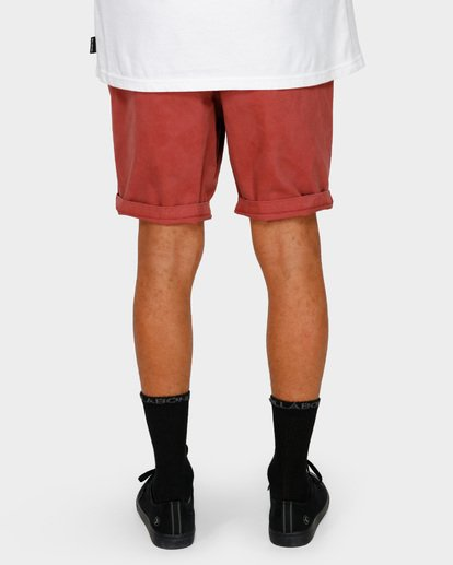 10 NEW ORDER WAVE WASH WALKSHORTS Red 9591713 Billabong