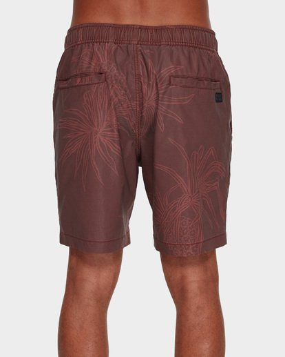 4 Larry Layback Sundays Walkshorts Red 9591715 Billabong
