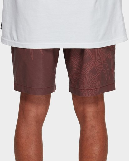 7 Larry Layback Sundays Walkshorts Red 9591715 Billabong