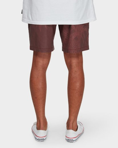 10 Larry Layback Sundays Walkshorts Red 9591715 Billabong