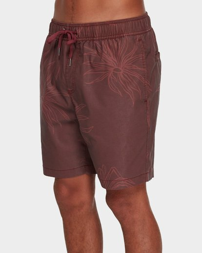 3 Larry Layback Sundays Walkshorts Red 9591715 Billabong