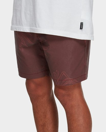 6 Larry Layback Sundays Walkshorts Red 9591715 Billabong