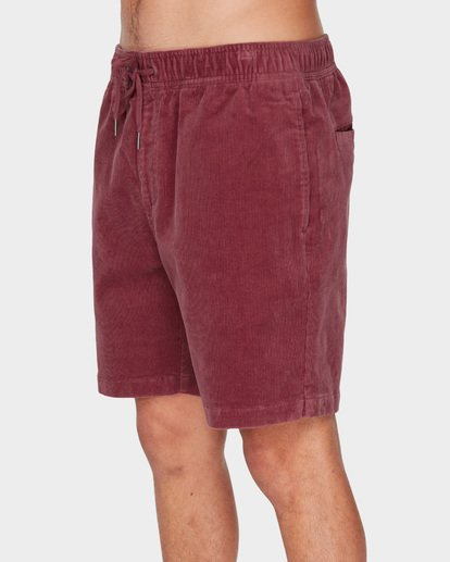 3 LARRY LAYBACK CORD WALKSHORTS Pink 9591716 Billabong
