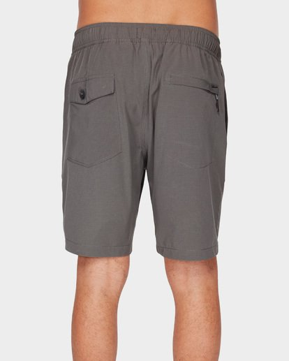 4 SURFTREK PERF ELASTIC SHORTS Grey 9591717 Billabong
