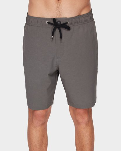 2 SURFTREK PERF ELASTIC SHORTS Grey 9591717 Billabong
