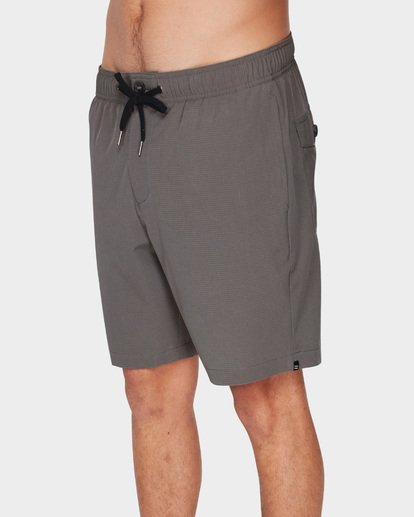 3 SURFTREK PERF ELASTIC SHORTS Grey 9591717 Billabong