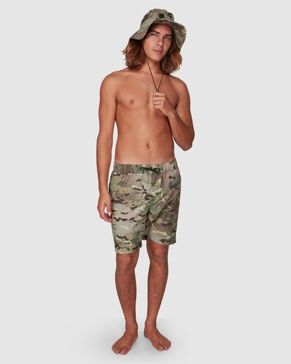 3 SURFTREK MULTICAM WALKSHORT Camo 9591732M Billabong