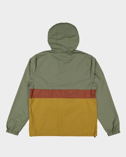5 Wind Swell Anorak Jacket Green 9591901 Billabong