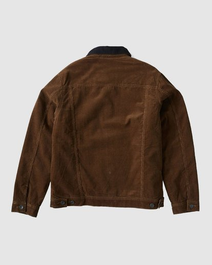 1 Barlow Trucker Jacket Brown 9591911X Billabong