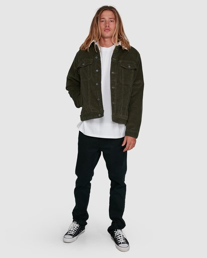 6 Barlow Trucker Green 9591911X Billabong