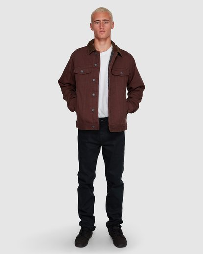 6 Barlow Trucker Jacket Brown 9591911X Billabong