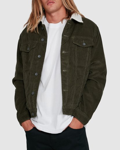 1 Barlow Trucker Green 9591911X Billabong