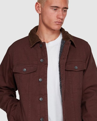 4 Barlow Trucker Jacket Brown 9591911X Billabong