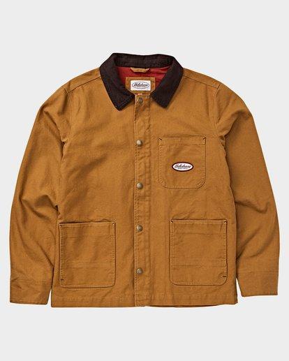 6 97 RANCH JACKET Brown 9591912X Billabong