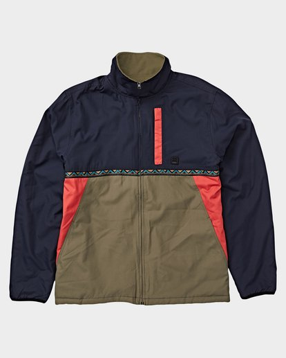 6 ATLAS REVERSIBLE JACKET Blue 9591915 Billabong
