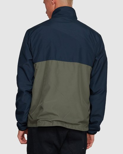 3 Atlas Reversible Jacket Blue 9591915 Billabong