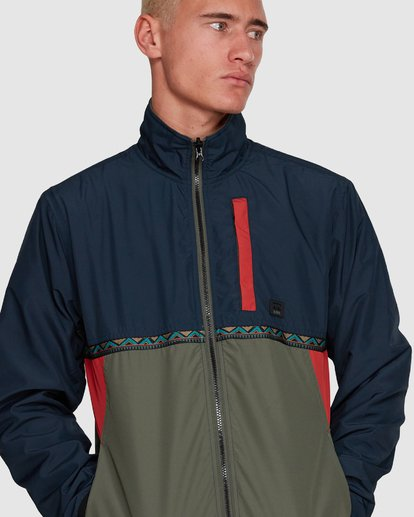 4 Atlas Reversible Jacket Blue 9591915 Billabong