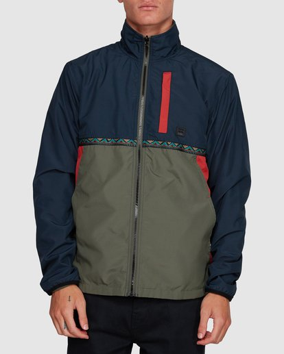 0 Atlas Reversible Jacket Blue 9591915 Billabong