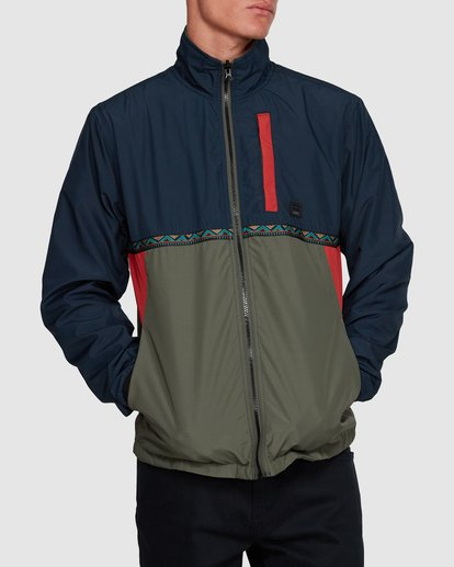 1 ATLAS REVERSIBLE JACKET Blue 9591915 Billabong