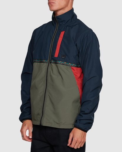 2 Atlas Reversible Jacket Blue 9591915 Billabong