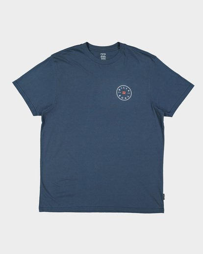 3 ROTOR TEE Blue 9592002 Billabong