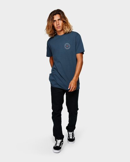 5 ROTOR TEE Blue 9592002 Billabong