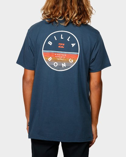 2 ROTOR TEE Blue 9592002 Billabong