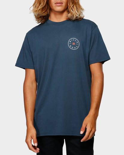 0 ROTOR TEE Blue 9592002 Billabong