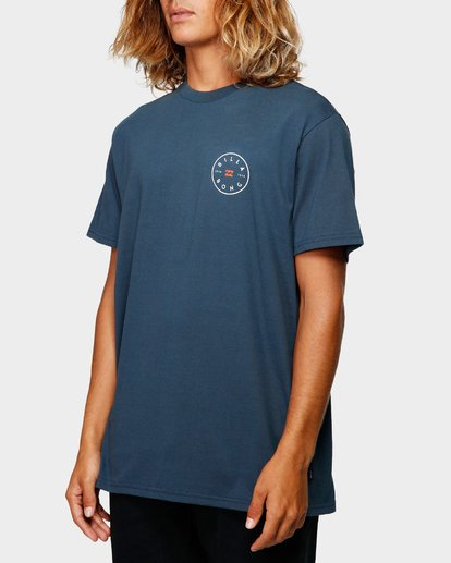 1 ROTOR TEE Blue 9592002 Billabong