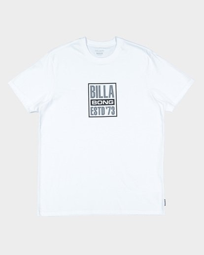 3 Blocked Tee White 9592010 Billabong