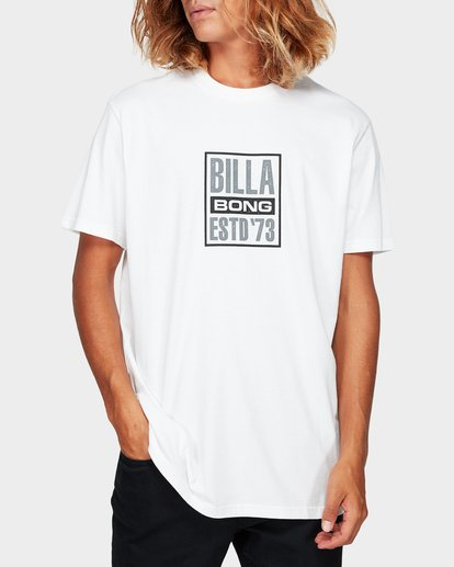 0 Blocked Tee White 9592010 Billabong