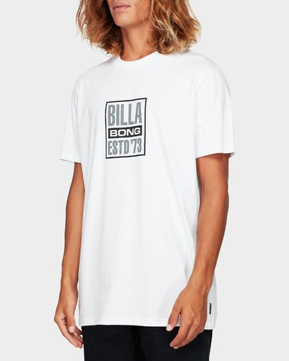 1 Blocked Tee White 9592010 Billabong