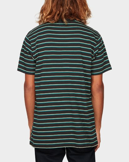 2 Indie Stripe Tee Green 9592016 Billabong