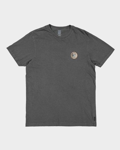 3 YANG TEE Grey 9592017 Billabong