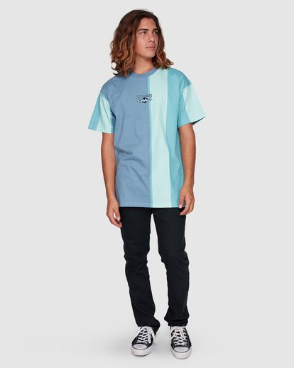6 HUX TEE Blue 9592040M Billabong