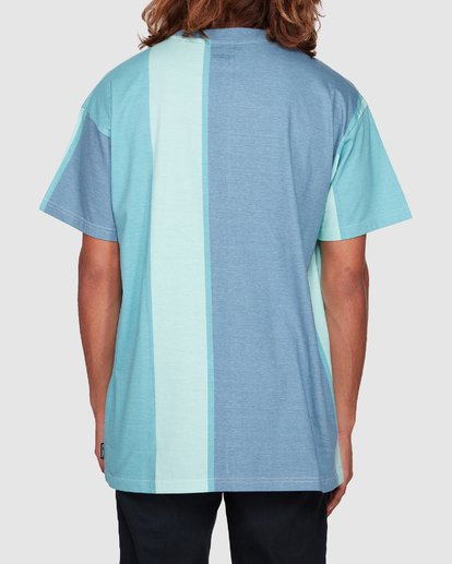 3 HUX TEE Blue 9592040M Billabong