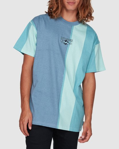 1 HUX TEE Blue 9592040M Billabong