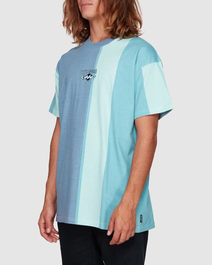 2 HUX TEE Blue 9592040M Billabong